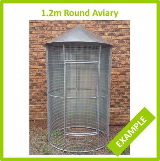 1.2m Round Aviary