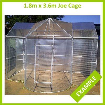 1.8m x 3.6m Joe Cage