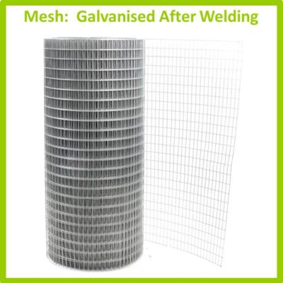 Mesh - Welded Mesh Galvanised After Welding