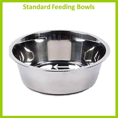 Stainless Bowls - Standard Feeding Bowls
