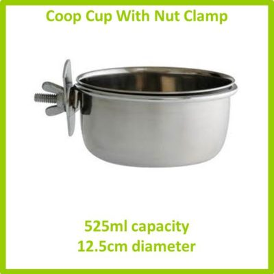 coop cup with nut clamp 525ml 12.5cm