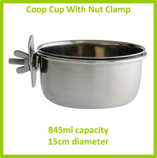 coop cup with nut clamp 845ml 15cm