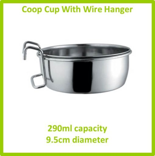coop cup with wire hanger 290ml 9.5cm