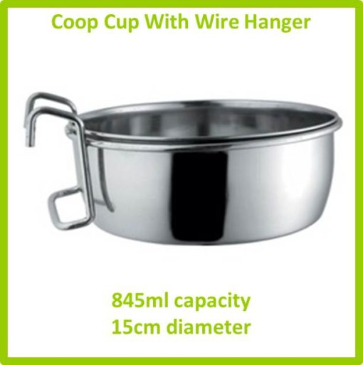 coop cup with wire hanger 845ml 15cm