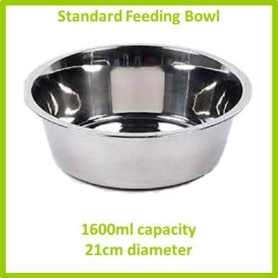 standard feeding bowl 1600ml 21cm