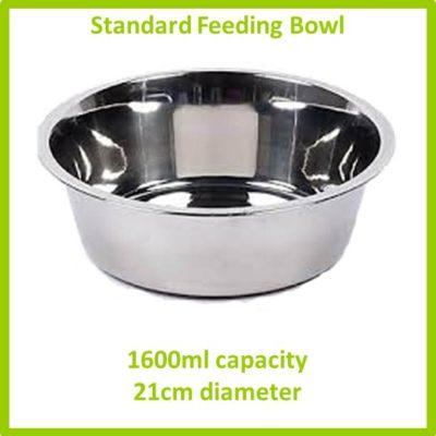 standard feeding bowl 1600ml 21cm