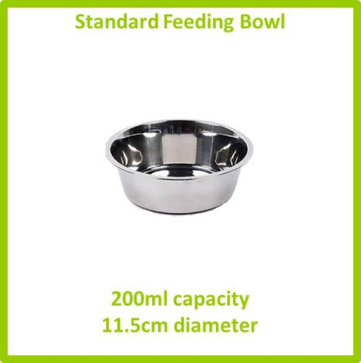 standard feeding bowl 200ml 11.5cm
