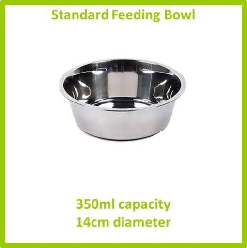 standard feeding bowl 350ml 14cm