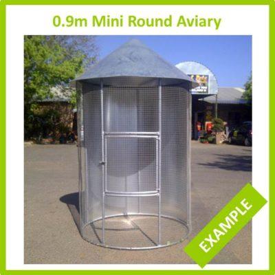 0.9m Mini Round Aviary