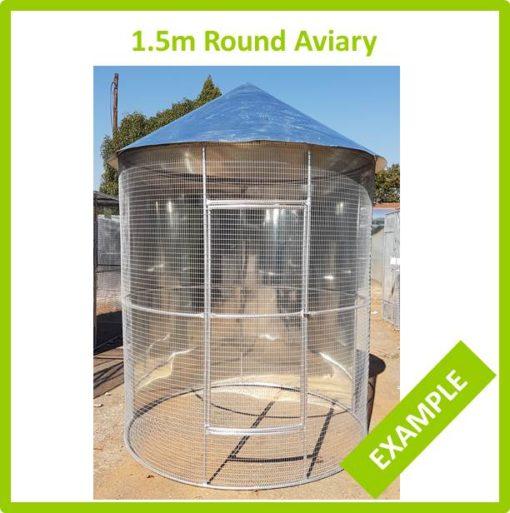 1.5m Round Aviary