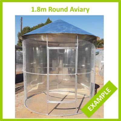 1.8m Round Aviary