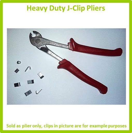 Heavy Duty J-Clip Pliers