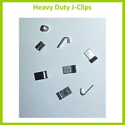 Heavy Duty J-Clips