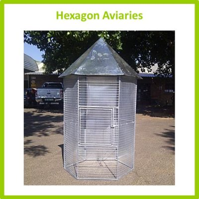 Hexagon Aviaries