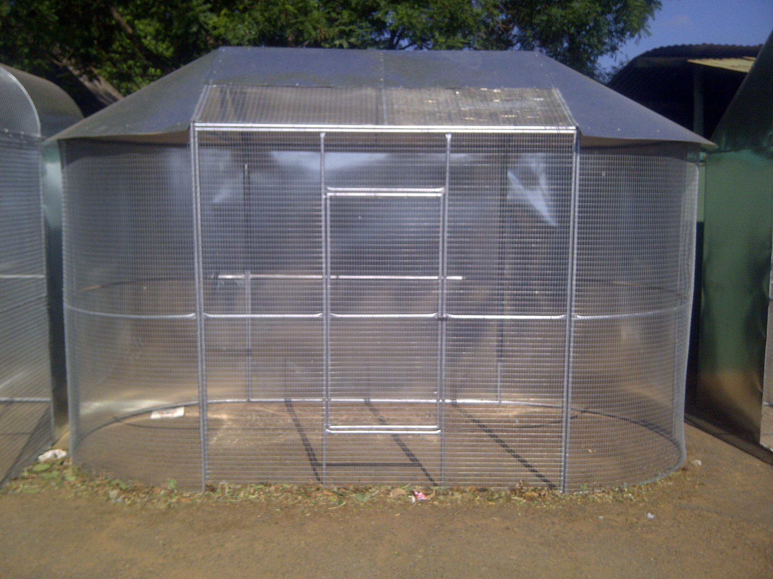 3.6m Oval Aviary
