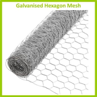 Mesh - Hexagon Mesh (oogies draad)