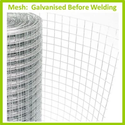 Mesh - Welded Mesh Galvanised Before Welding