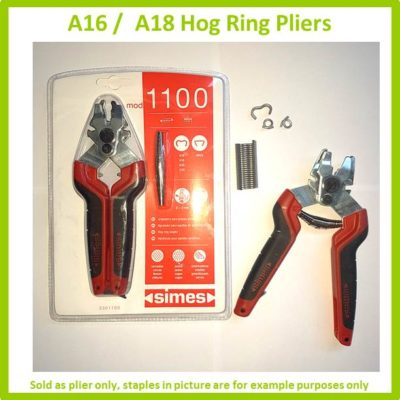 A16 and A18 Hog Ring Pliers