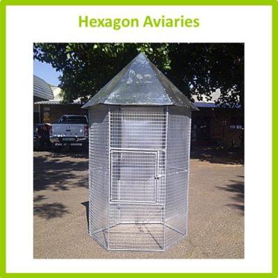 Hexagon Aviaries