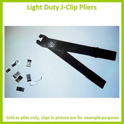 Light duty J-Clip pliers